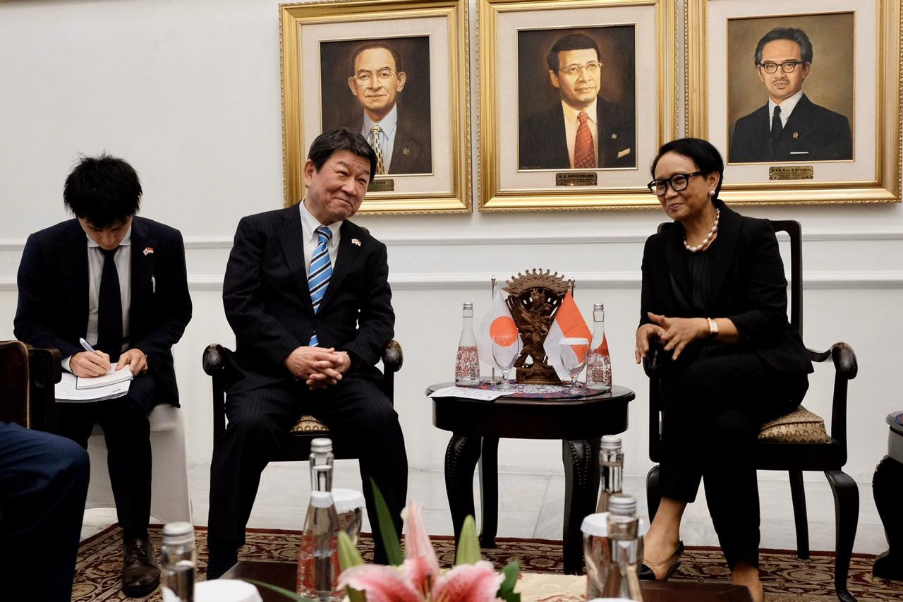 Indonesia, Japan commit to 'cooperation' against COVID-19