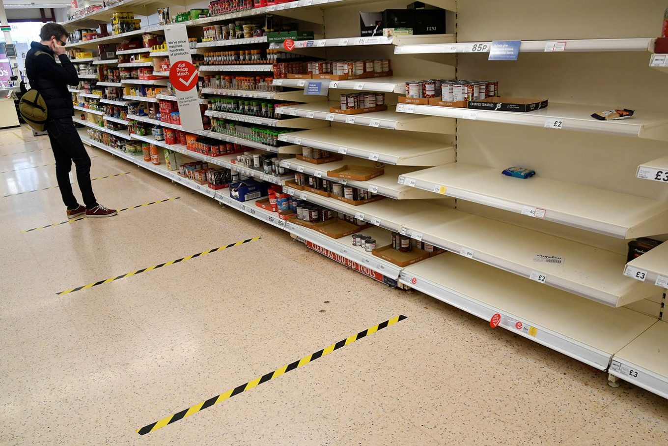 UK lockdown drives fastest growth in grocery sales for over 25 years