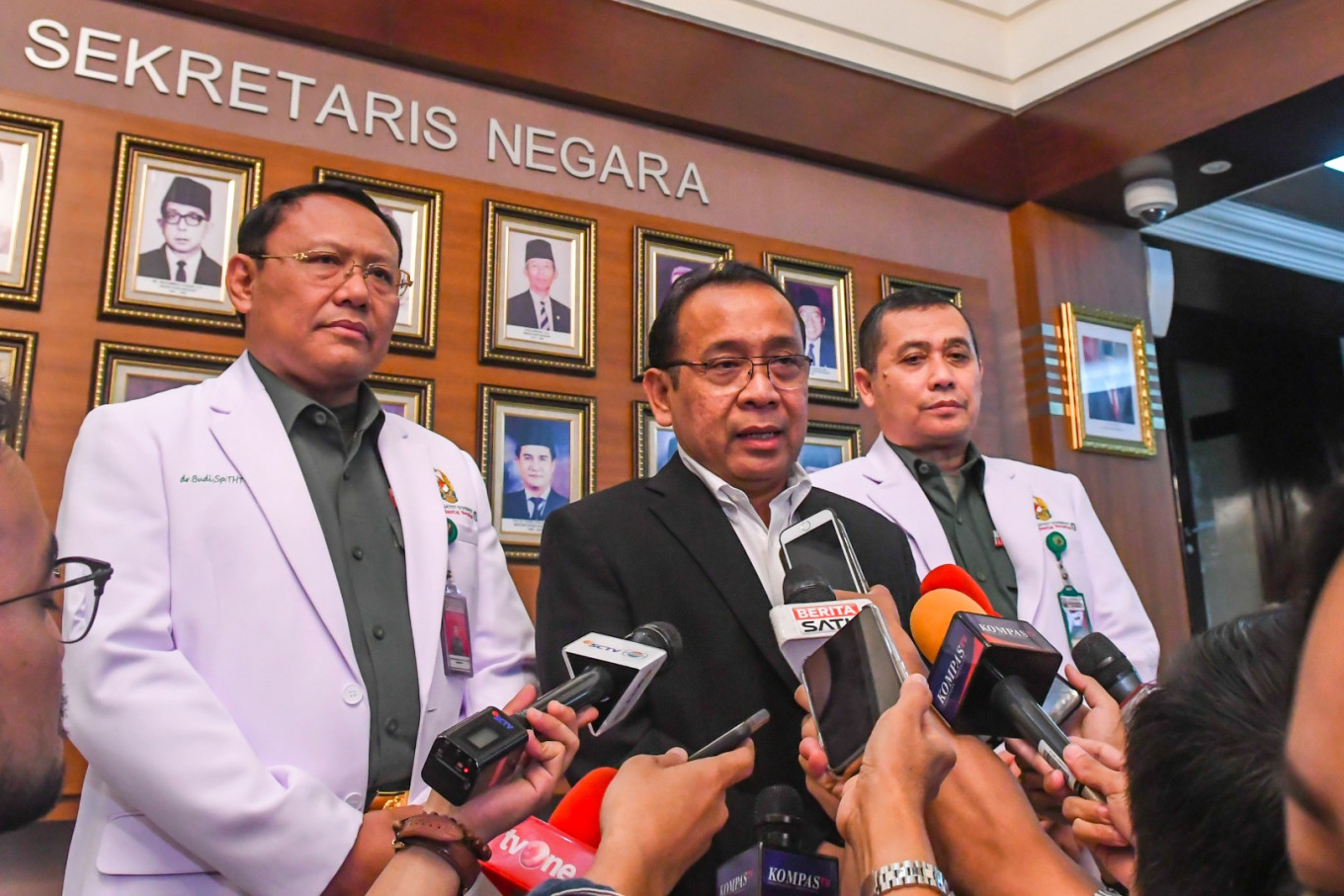 COVID-19 spreads among Indonesian government officials