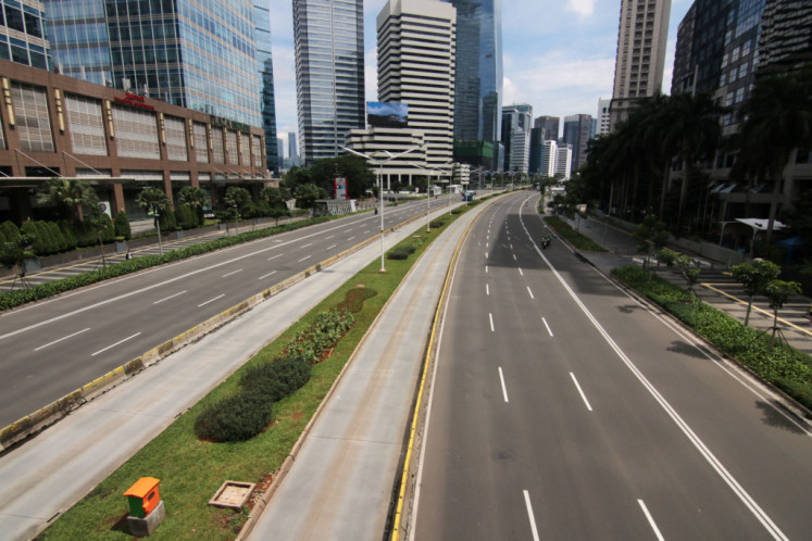Jakarta claims success in reducing congestion, but pandemic plays bigger role