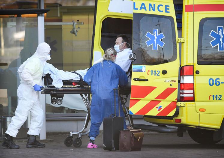 Netherlands tops 10,000 coronavirus cases