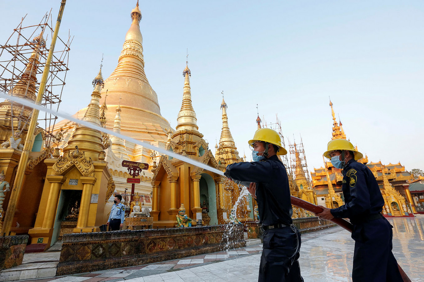 Myanmar reports first coronavirus death as case numbers rise