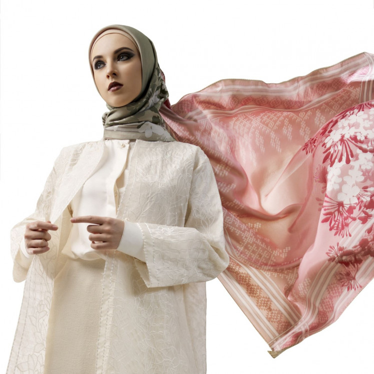 Digital fashion: The collection was launched online with campaign videos.