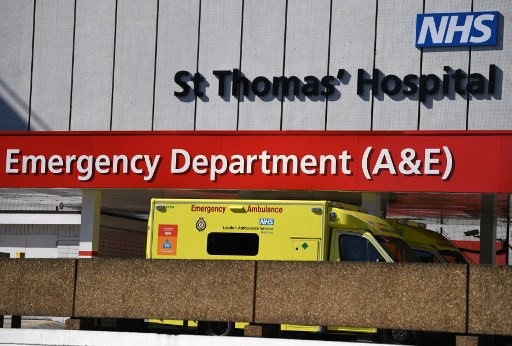 London hospitals facing 'tsunami' of virus patients: NHS official