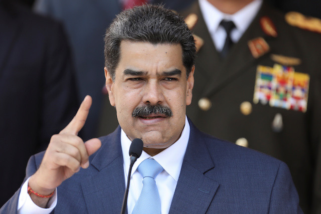 US indicts Venezuela's Maduro, a political foe, for 'narco-terrorism'