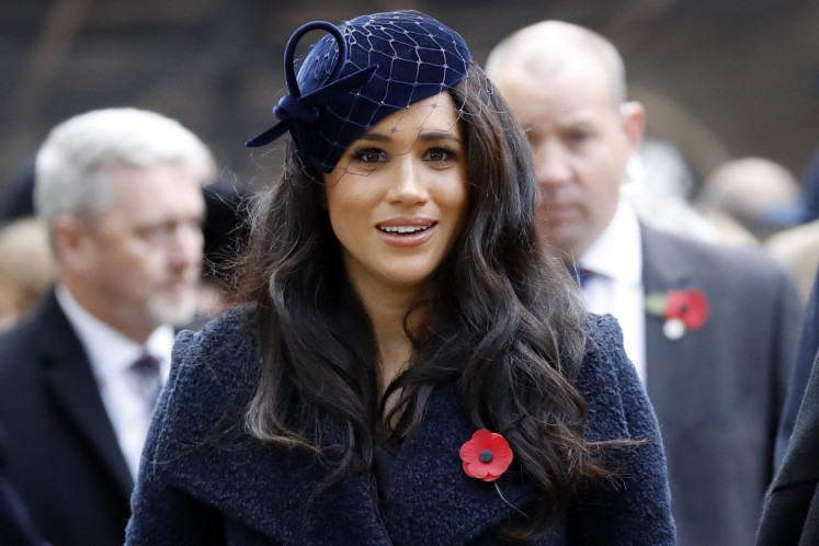 UK court says Meghan can keep friends secret for 'time being' in tabloid lawsuit