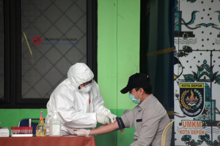 Jakarta S Covid 19 Rapid Tests Show Positive Results For 282 People City The Jakarta Post