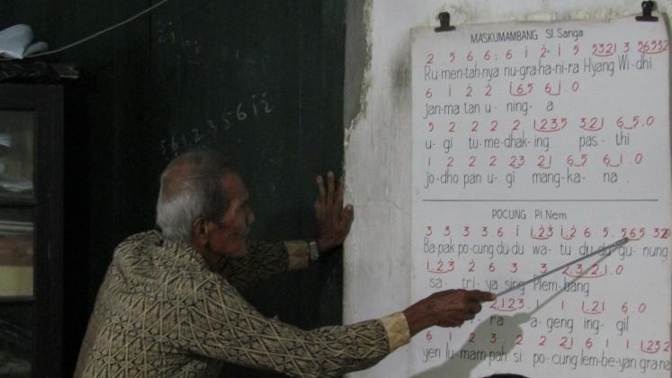 Dwijo Cipto Wandowo teaches
