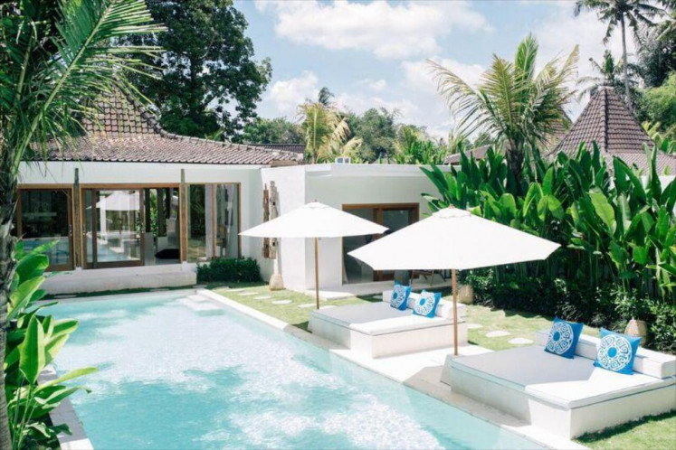 Villas and apartments in Ubud, Bali, as listed on Agoda