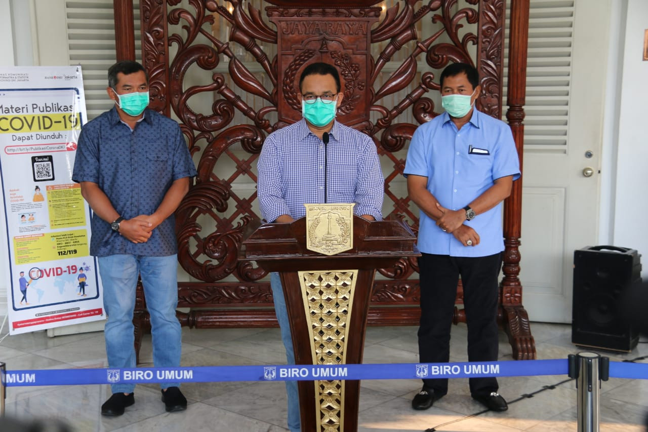 COVID-19: Anies slams Health Ministry's requirements for large-scale social restrictions