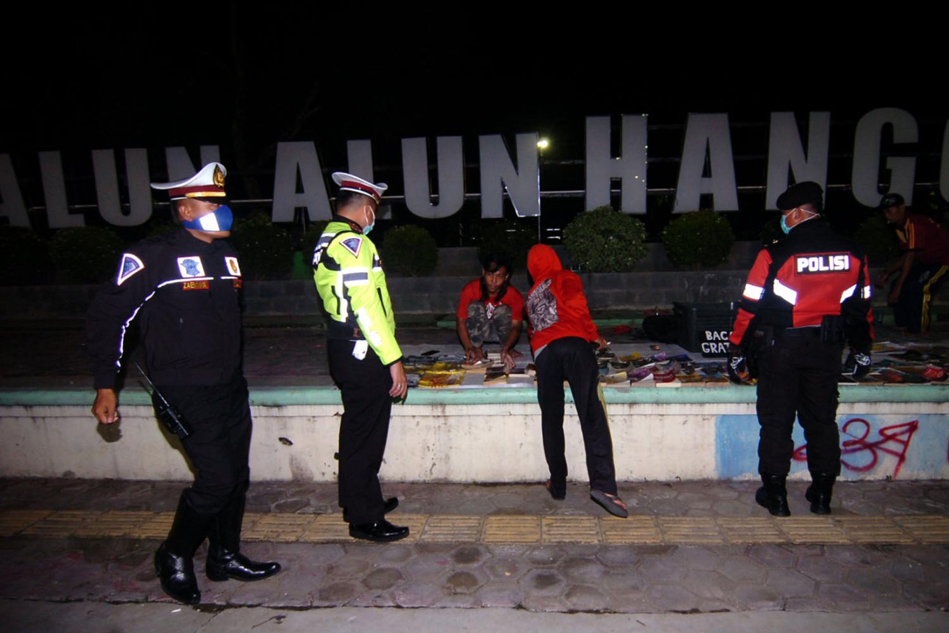 Komnas HAM records eight potential human rights violations by police during pandemic