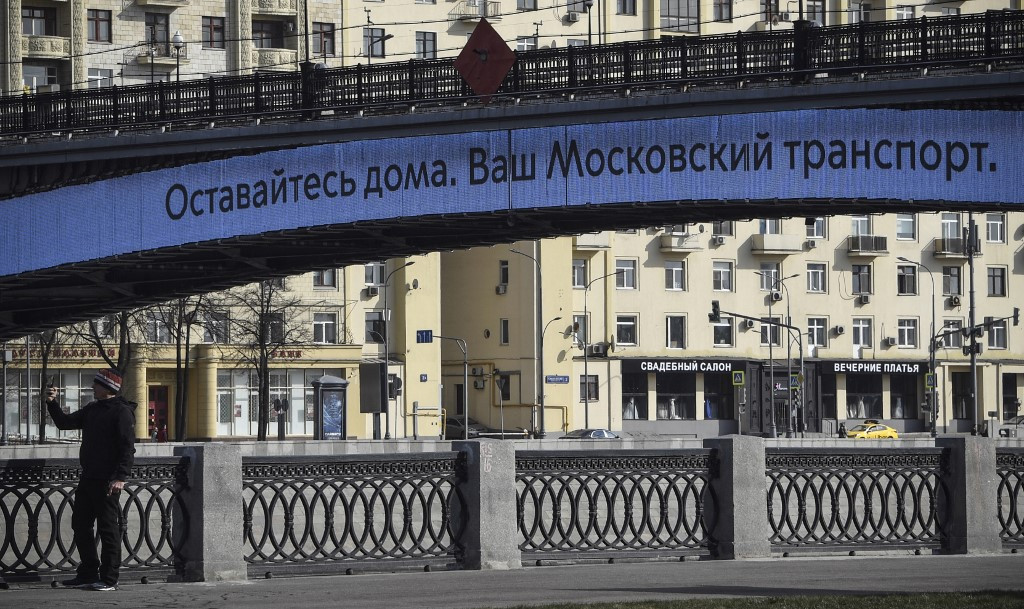 Moscow orders partial lockdown as coronavirus cases in the capital pass 1,000