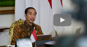 Jokowi considers civil emergency policies