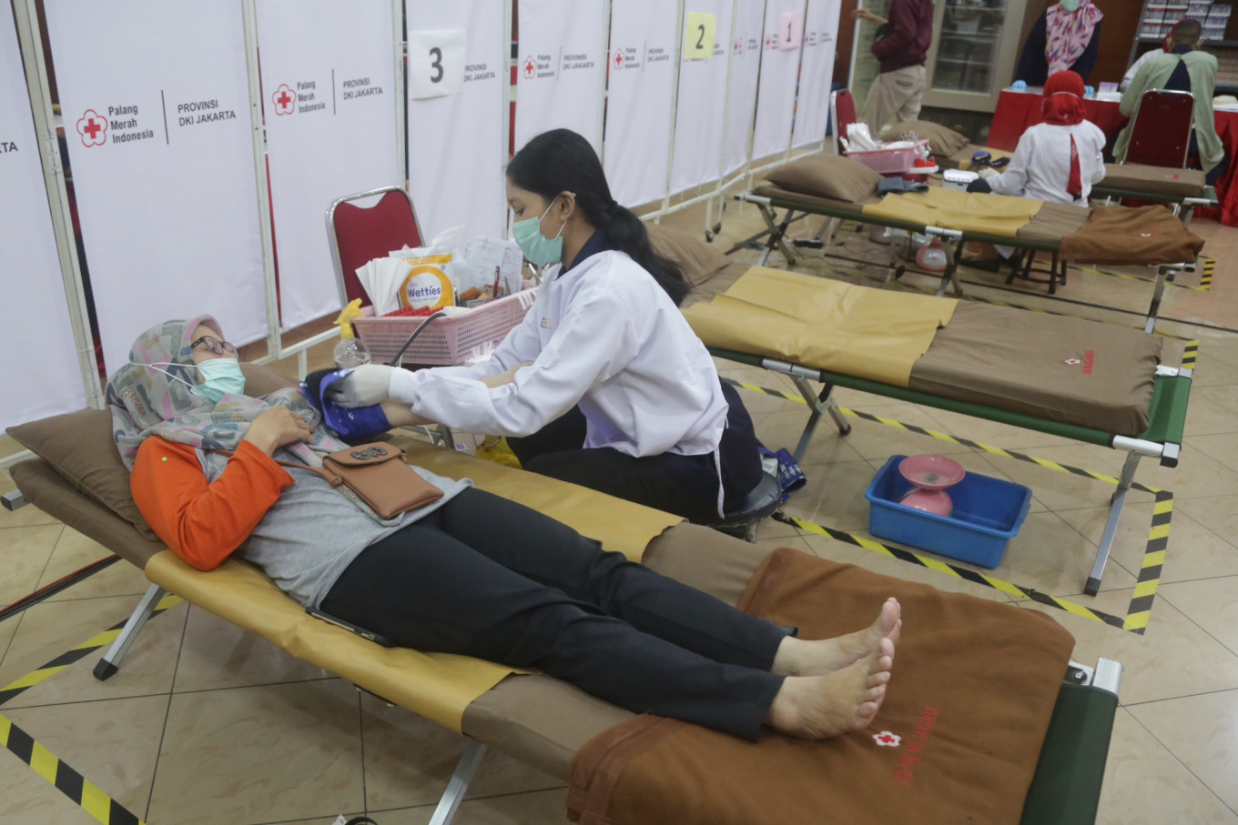 COVID-19: Medan Red Cross reports blood shortage, calls for donations
