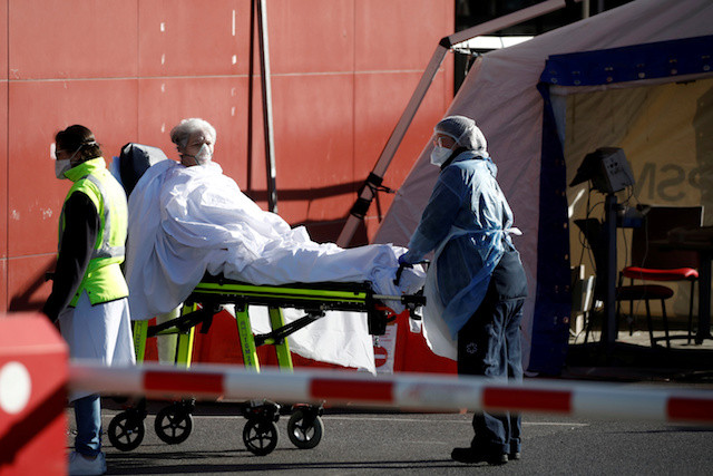 France to transfer critical coronavirus patients by train to ease hospital pressure