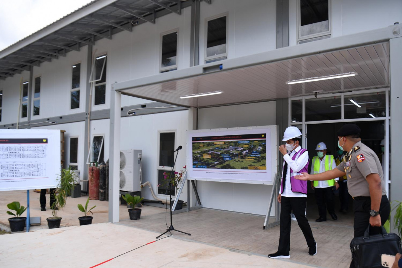 COVID-19 hospital on Galang Island to prioritize treating migrants