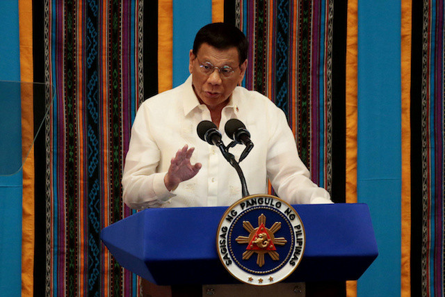 Philippines' Duterte refuses to stop South China Sea patrols