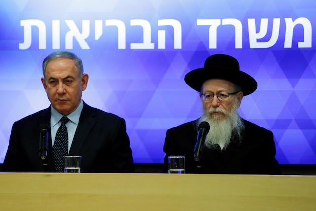 Israel's health minister diagnosed with coronavirus