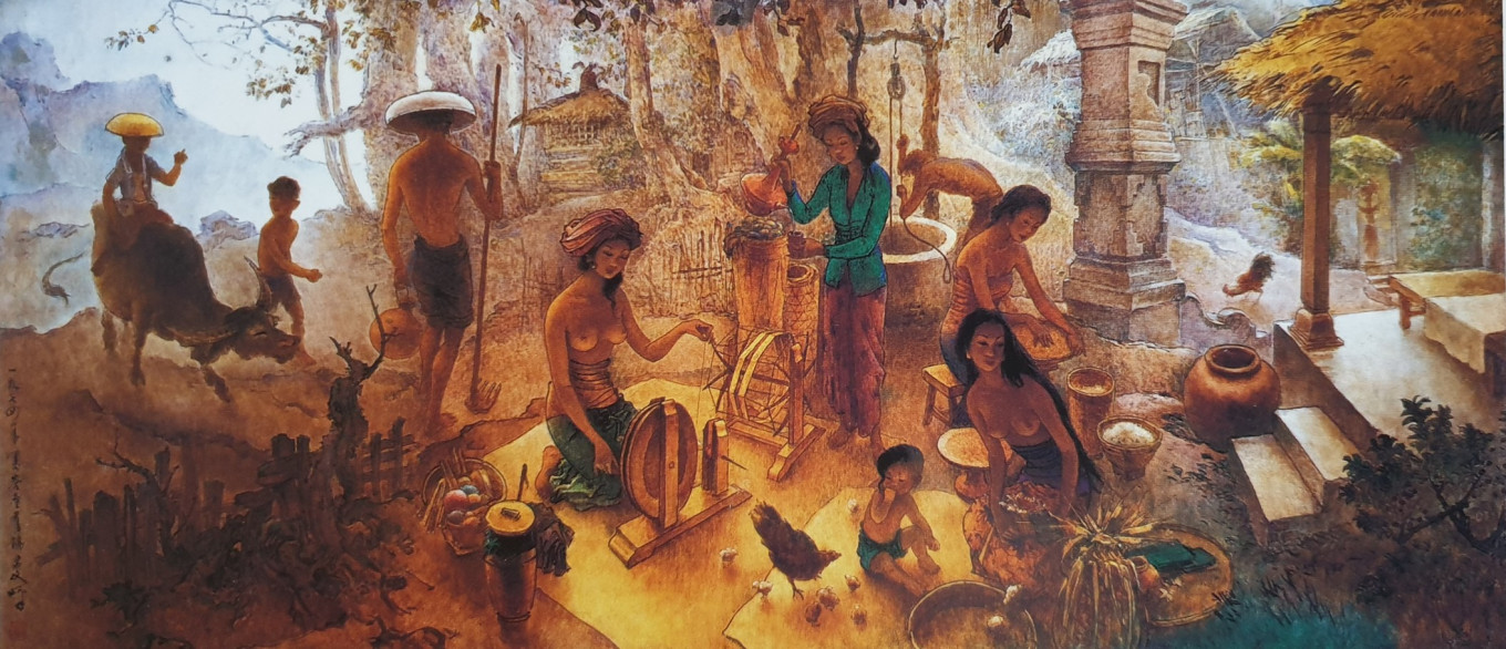 Art in a time of crisis: Lee Man Fong's 'Bali Life' invites reflection