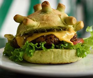 Pandemic patty: Hanoi eatery serves up 'Coronaburgers'