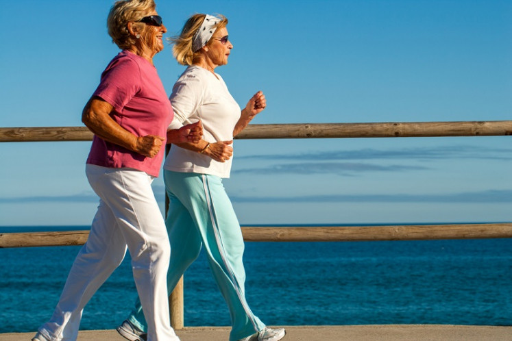 Why do women gain weight during menopause?