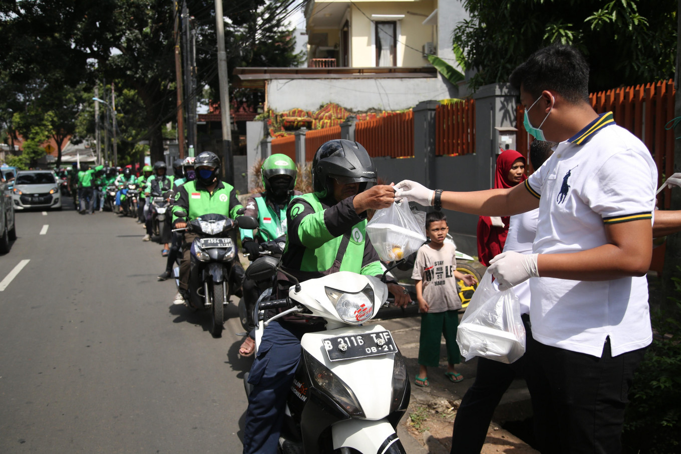 App-based motorcycle taxis can take passengers if regional government allows