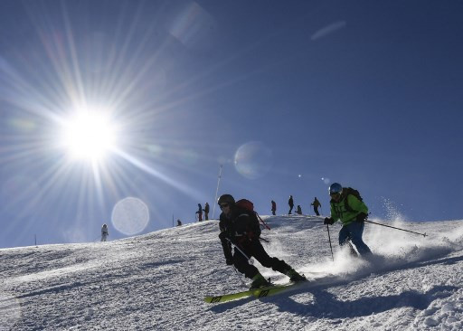 French ski resort a slippery slope to virus for Ukraine MPs: Report
