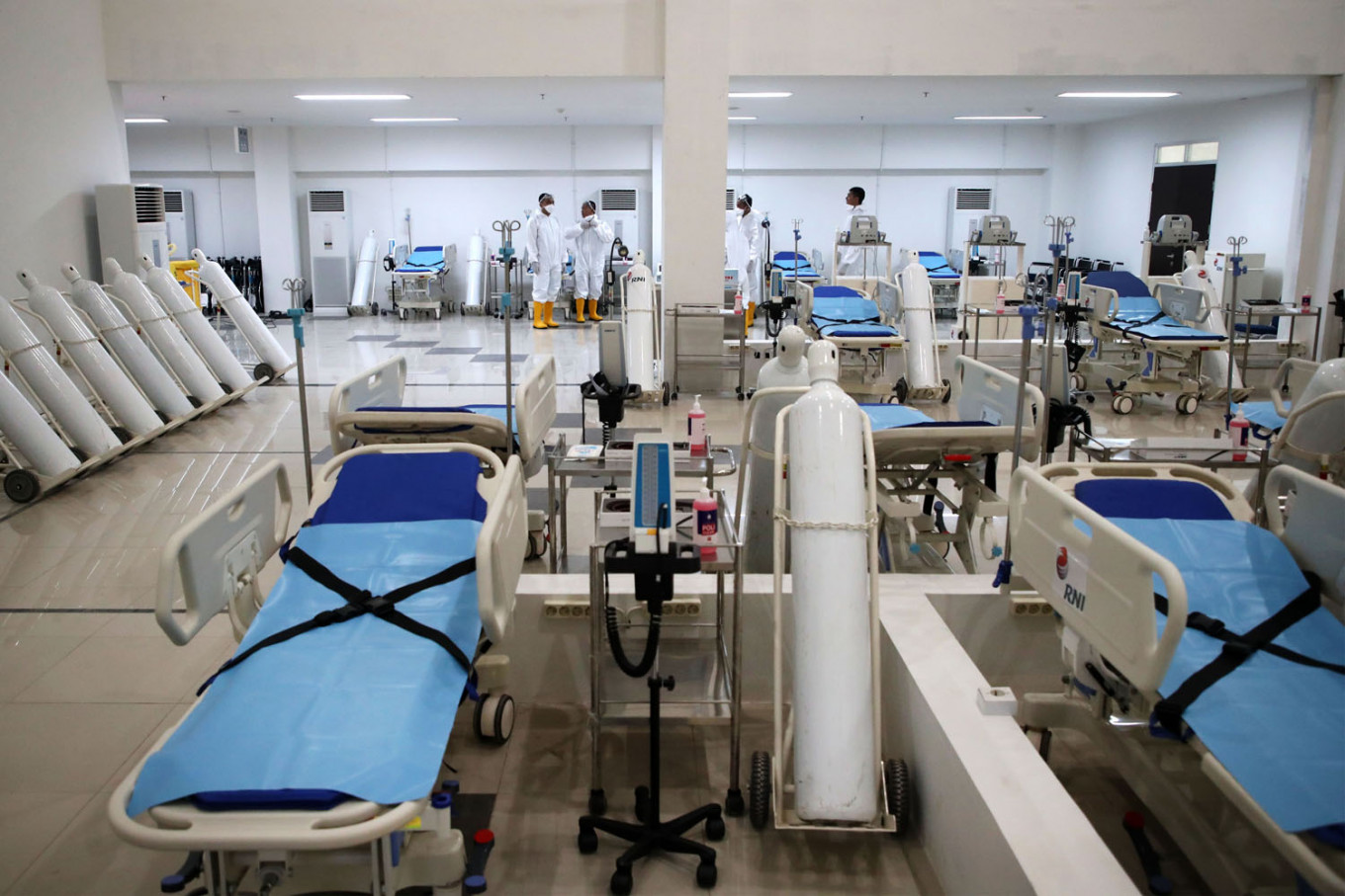 Jakarta's COVID-19 hospitals seek safeguards for employees