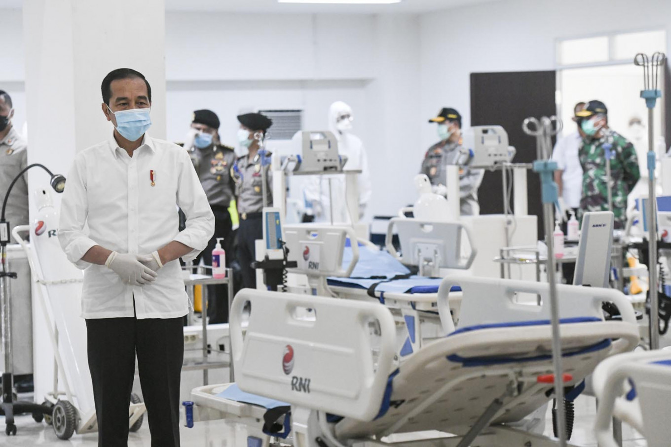 Jokowi mourns medical workers who have fallen to COVID-19