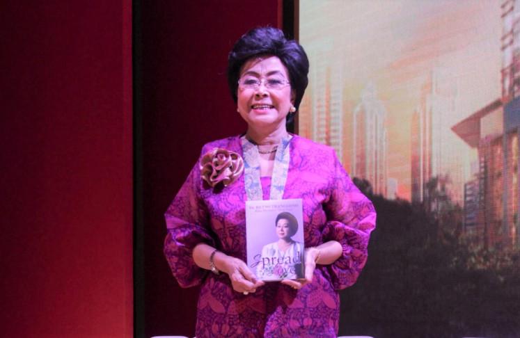'Spread the Love': Retno Iswari Tranggono counts her blessings