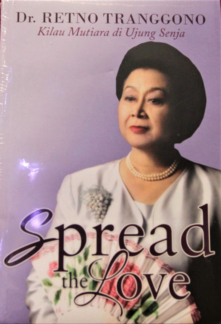 Out now: In her new book, cosmetic dermatologist and businesswoman Retno Iswari Tranggono counts her blessings.