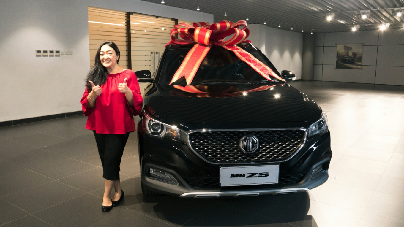 Eurokars welcomes new wave of Indonesian car enthusiasts with MG ZS