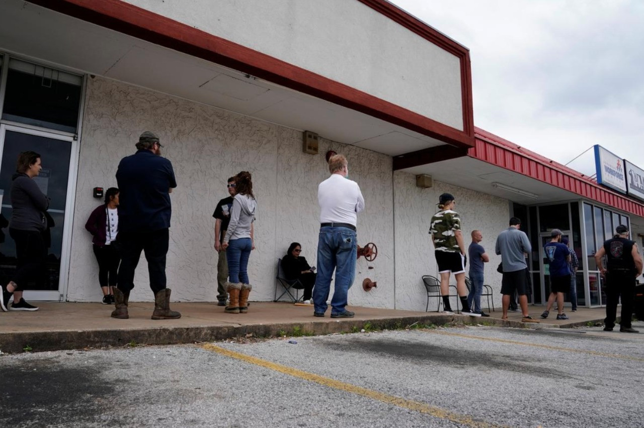 Record US jobless claims wipe out post-Great Recession employment gains