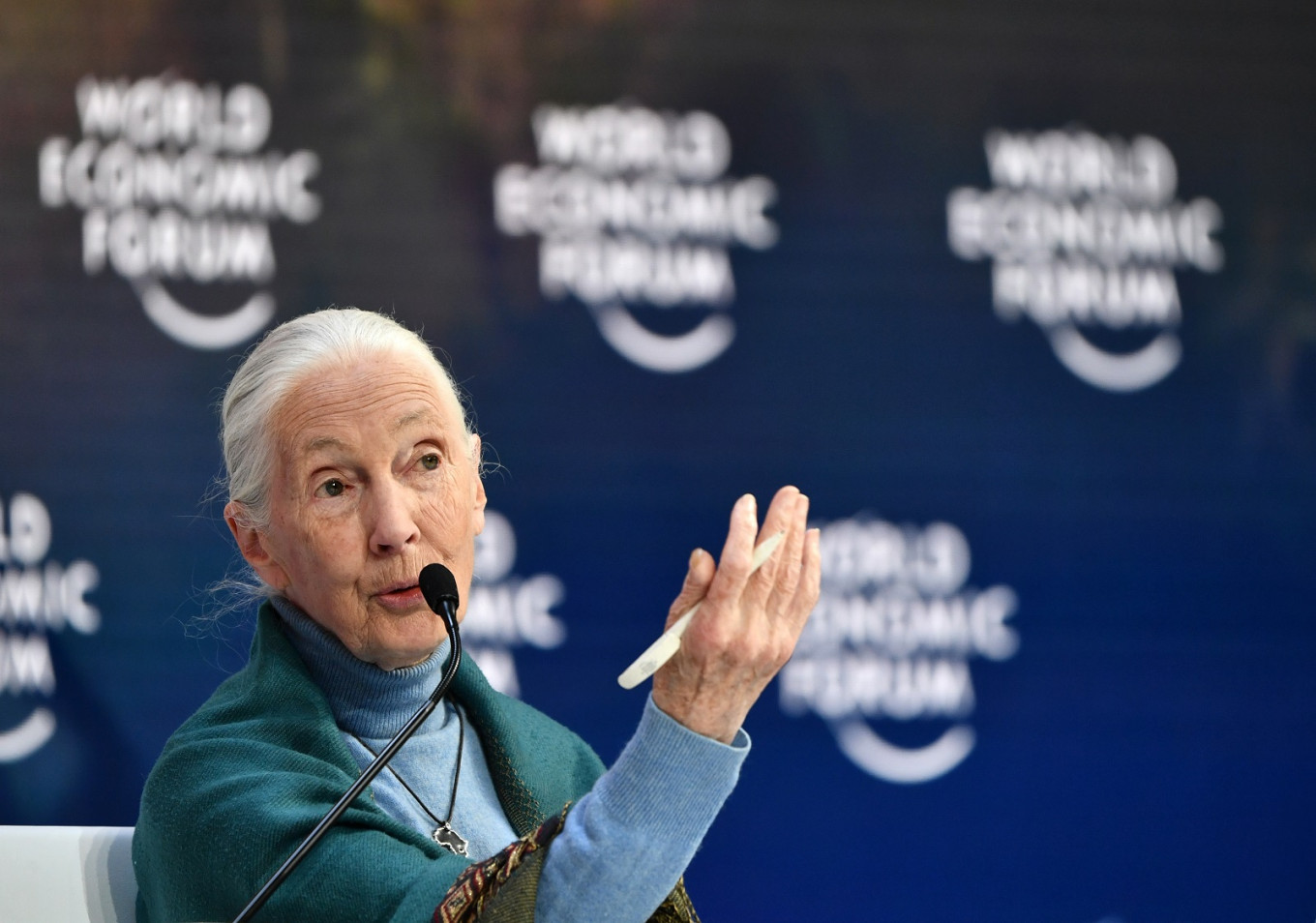 Jane Goodall says 'disrespect for animals' caused pandemic