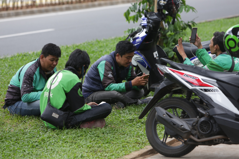 COVID-19: Jakarta's partial lockdown deals a heavy blow to 'ojek' drivers