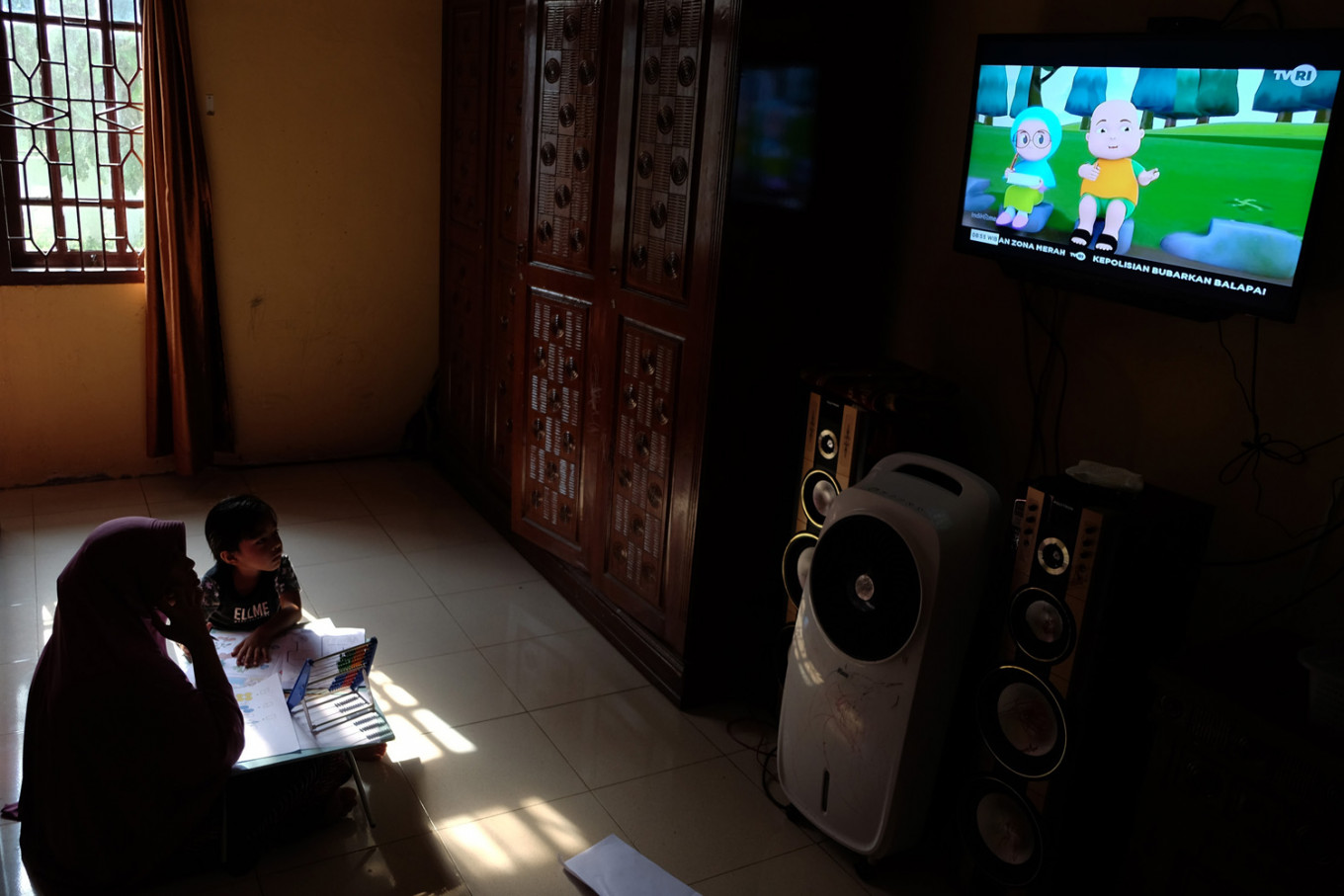'It's fun!': Underrated TVRI becomes students' favorite during stay-at-home orders