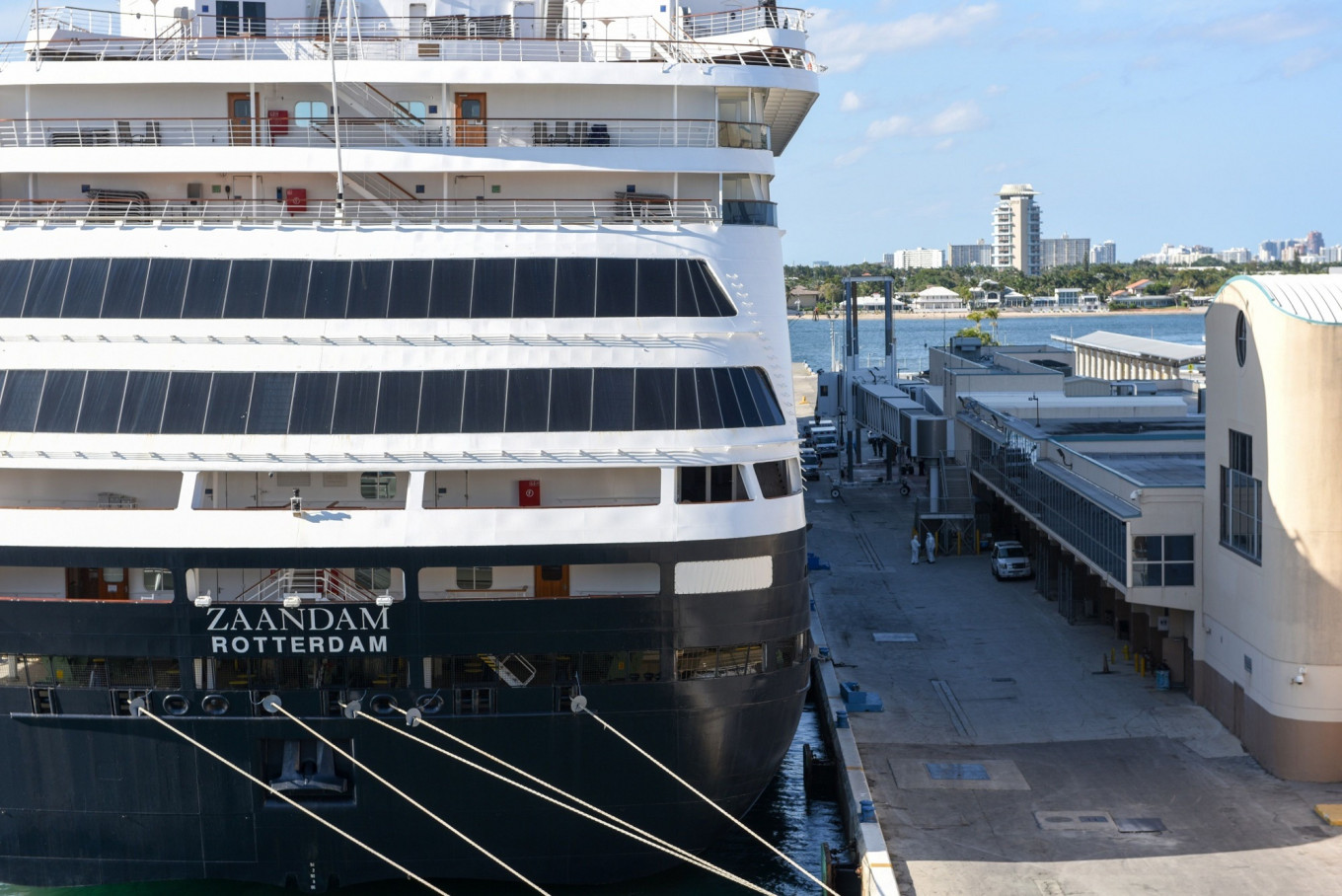 Cruise to nowhere: Passengers spend Easter on ship