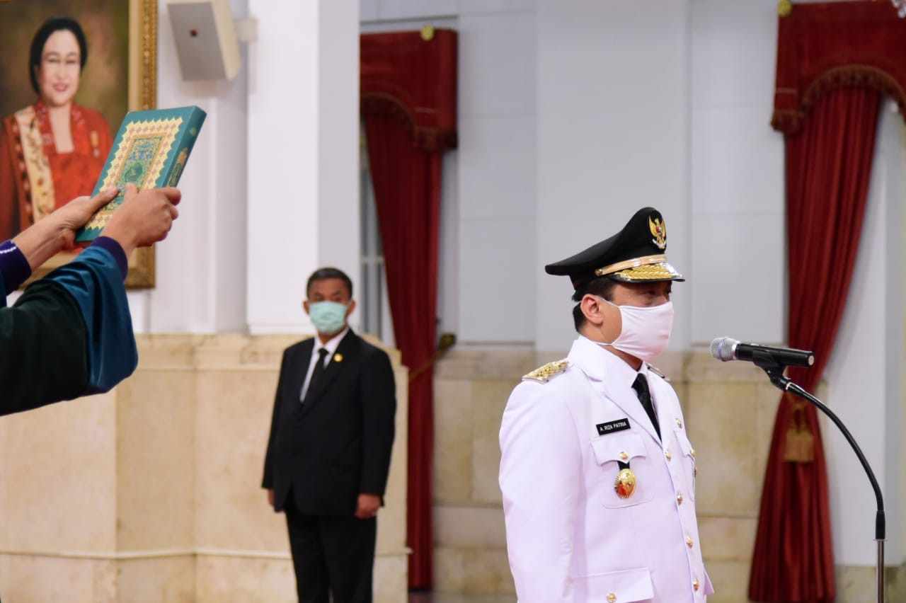 New deputy governor inaugurated as virus-hit Jakarta grinds to halt