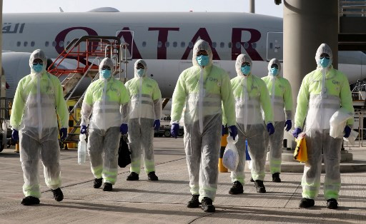 Qatar confirms first virus death among World Cup workforce