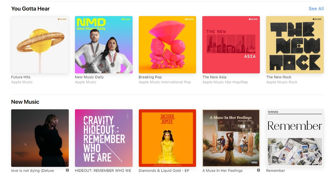 Apple Music launches on the web