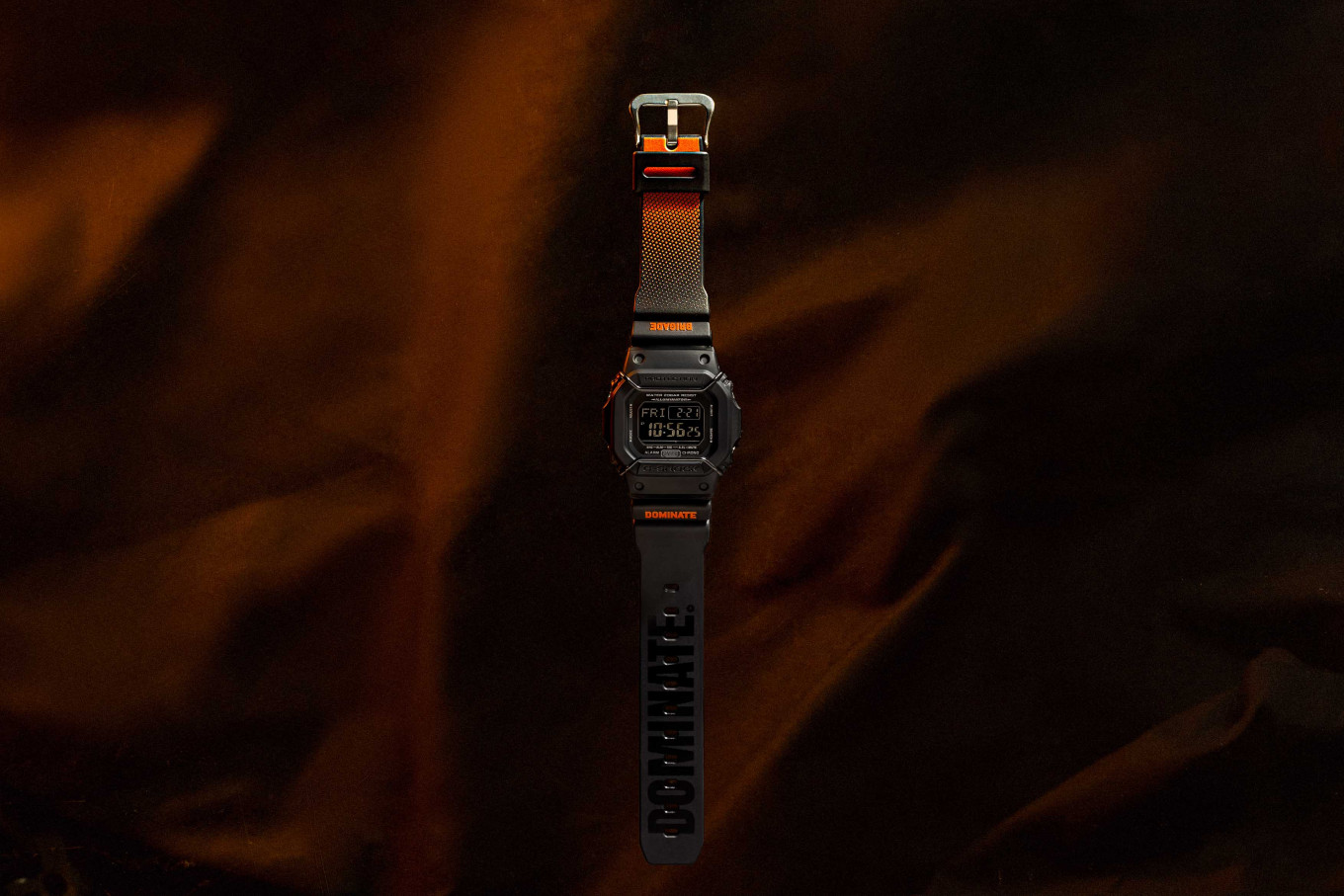 G-SHOCK teams up with Dominate for latest watch