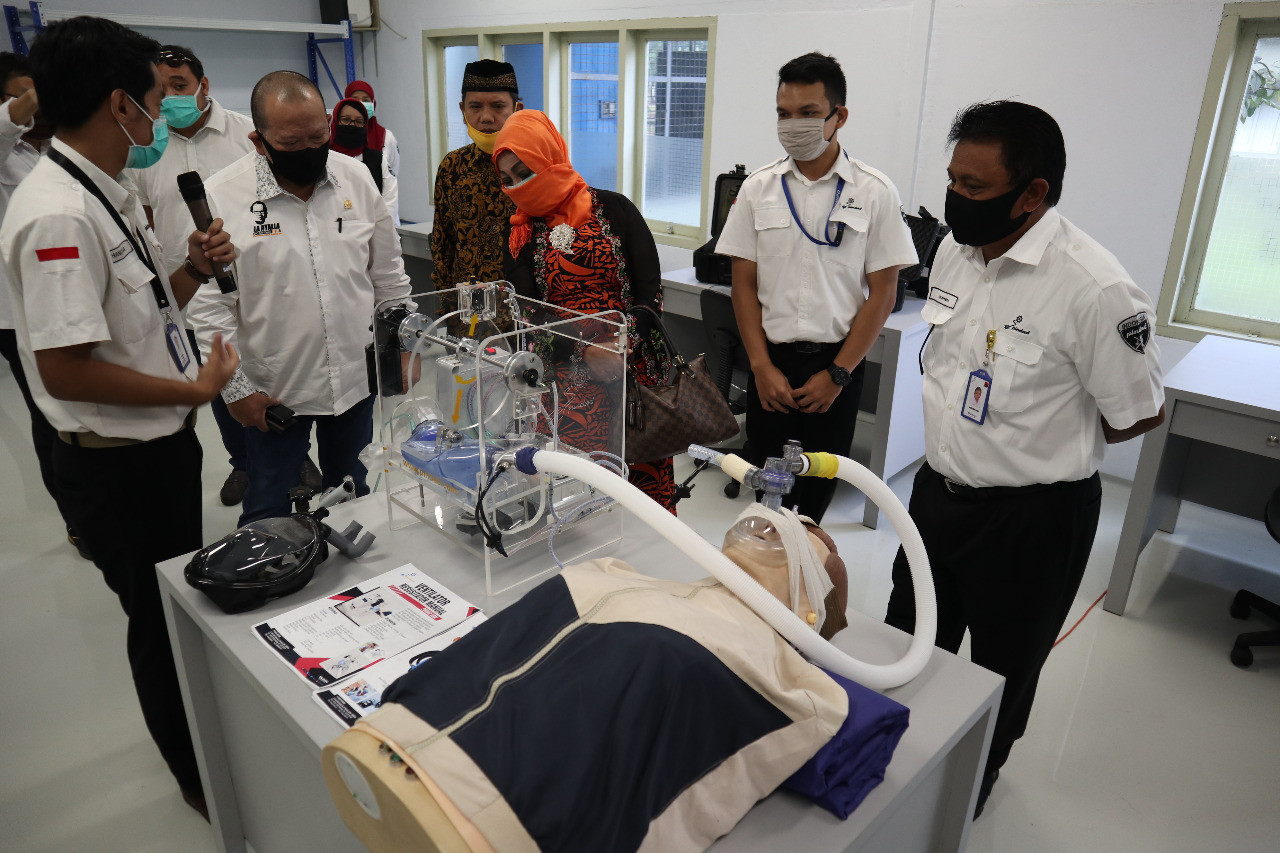 Indonesia receives first shipment of ventilators from United Nations organizations