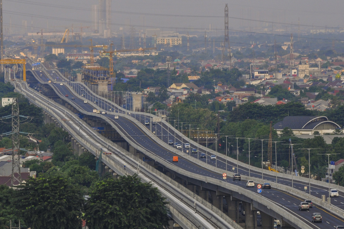 258 km of toll roads built in Indonesia in 2020, short of target