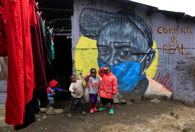 Spray it, don't say it: Kenya graffiti artists spread health message