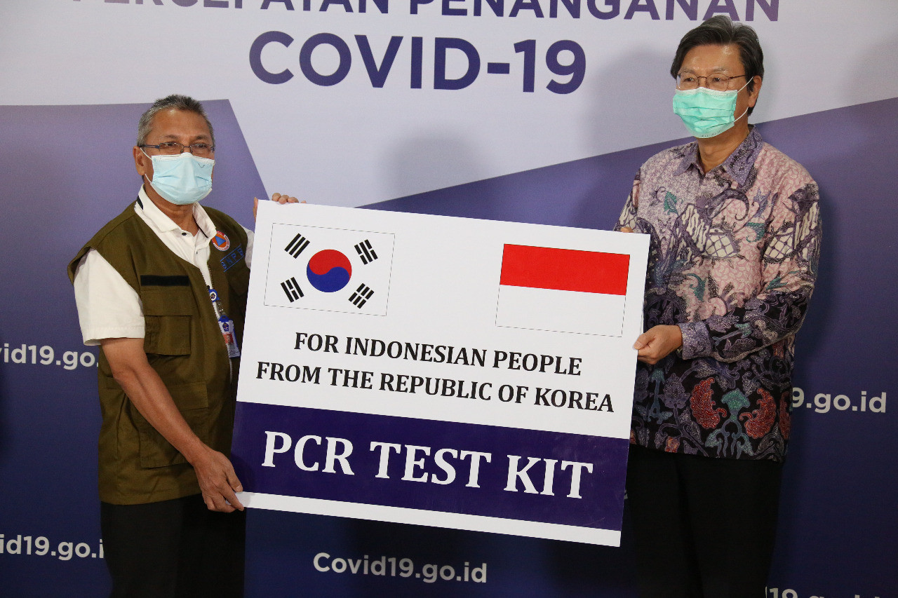 Indonesia, South Korea join hands in COVID-19 response