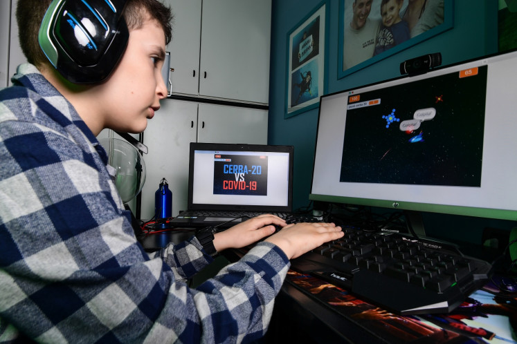 Lockdown inspires Italian boy to create coronavirus video game