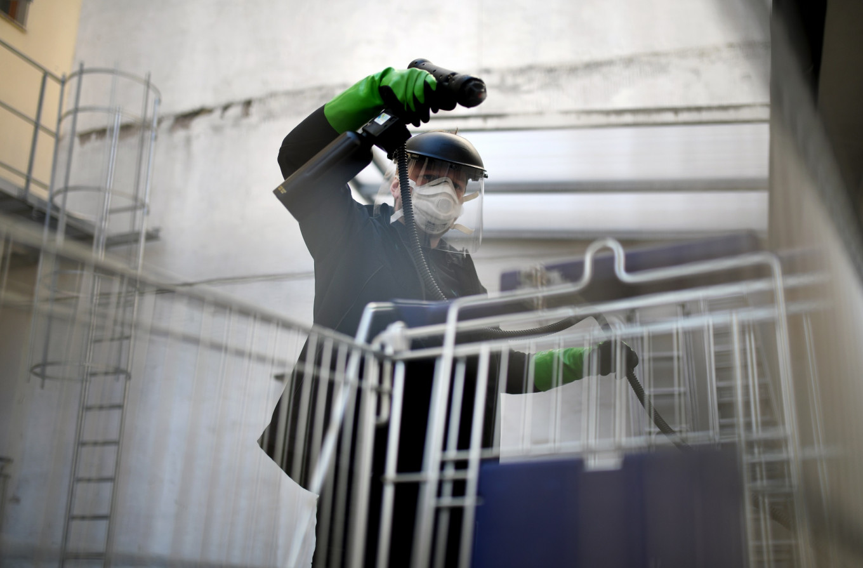 German start-up in global demand with anti-virus escalators