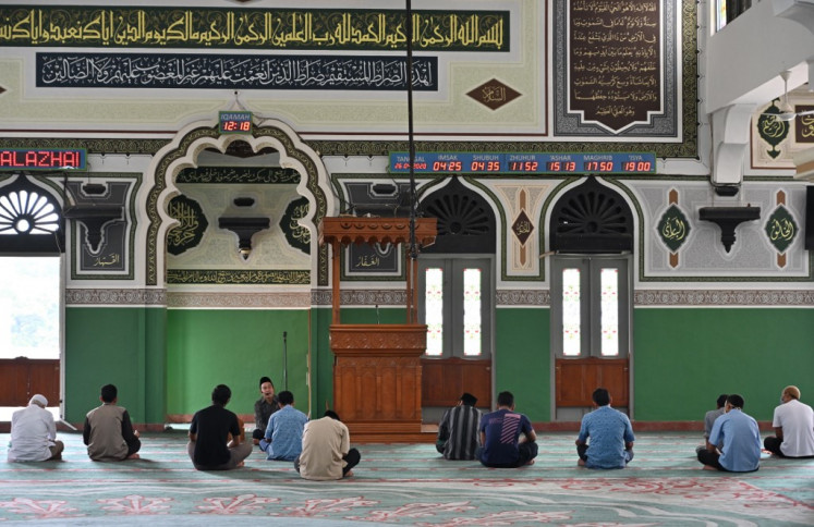 A silent Ramadan