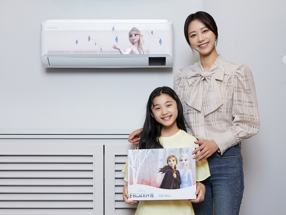 Samsung offers 'Frozen 2' edition of wind-free air conditioner