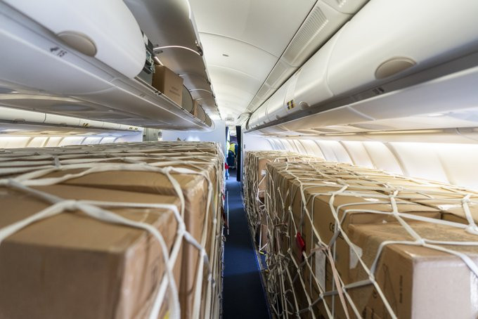 Airlines look to cargo services to cope with passenger slump